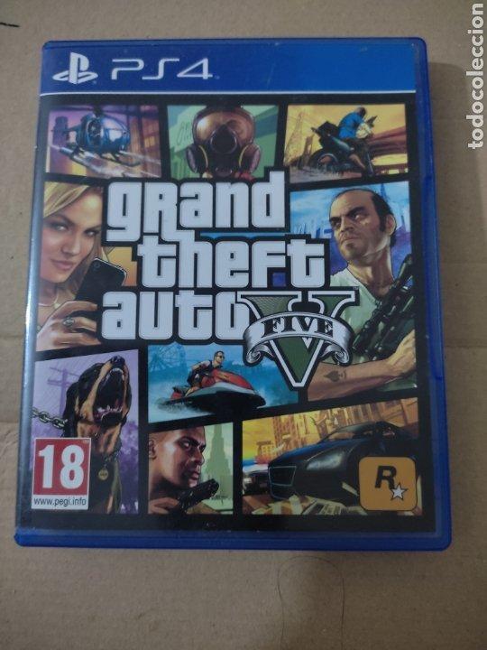 GRANDE THEFT AUTO V(PS4 (Juguetes - Videojuegos y Consolas - Sony - PS4)