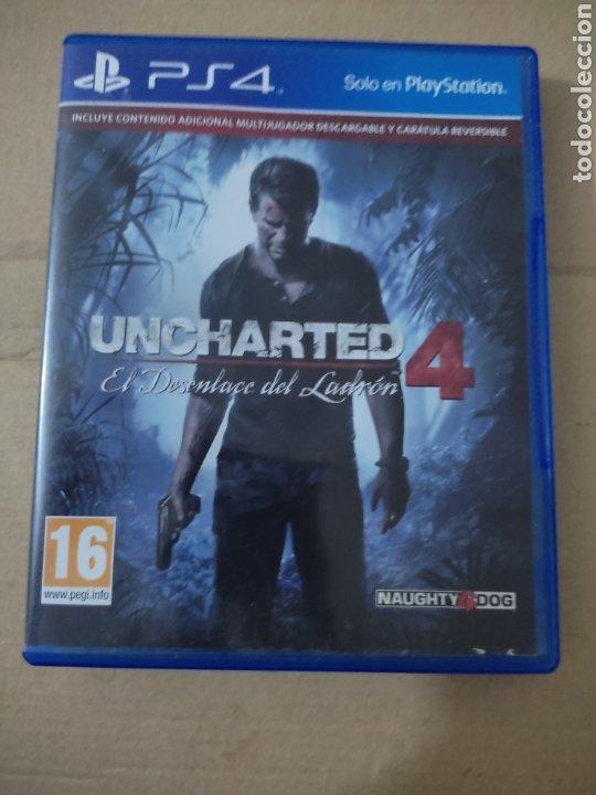 UNCHARTED 4 PS4 (Juguetes - Videojuegos y Consolas - Sony - PS4)
