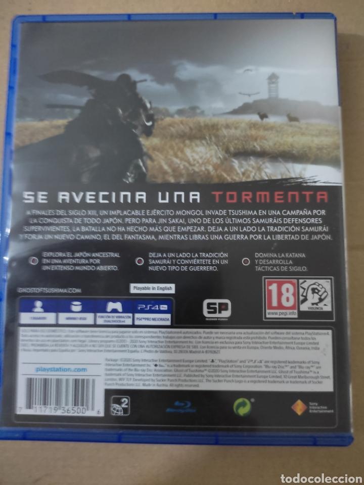 Videojuegos y Consolas PS4: Ghost of shushima(ps4) - Foto 4 - 276574638