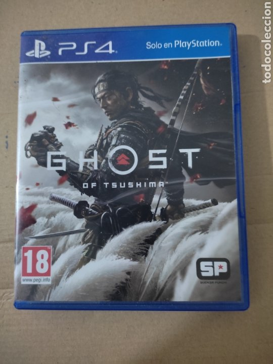 GHOST OF SHUSHIMA(PS4) (Juguetes - Videojuegos y Consolas - Sony - PS4)