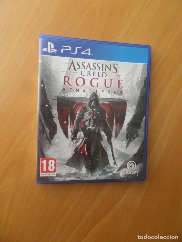 ASSASINS CREED ROGUE REMASTERED - PLAYSTATION 4 / PLAY STATION 4 - DISPONGO DE MAS VIDEO-JUEGOS (Juguetes - Videojuegos y Consolas - Sony - PS4)