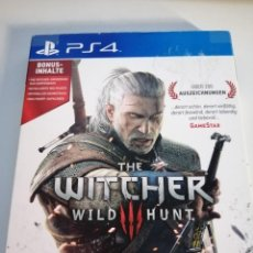 Videojuegos y Consolas PS4: THE WITCHER 3 WILD HUNT. Lote 277160503