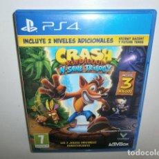 Videojuegos y Consolas PS4: CRASH BANDICOOT TRILOGY PS4. Lote 277560528