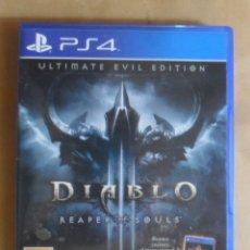 Videojuegos y Consolas PS4: PS4 - DIABLO - ULTIMATE EVIL EDITION - INCLUYE DIABLO III. Lote 277603128