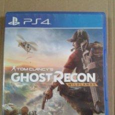 Videojuegos y Consolas PS4: GHOST RECON WILDLANDS. PS4. Lote 277760653