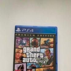 Videojuegos y Consolas PS4: GRAND THEFT AUTO V PARA PLAYSTATION 4. Lote 278166878