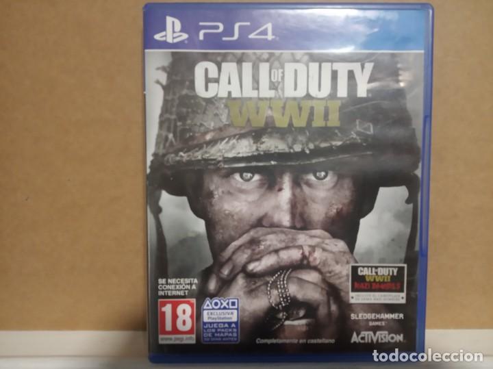 CALL OF DUTY WW II (Juguetes - Videojuegos y Consolas - Sony - PS4)