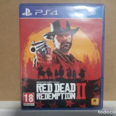 Videojuegos y Consolas PS4: RED DEAD REDEMPTION II. Lote 278197038