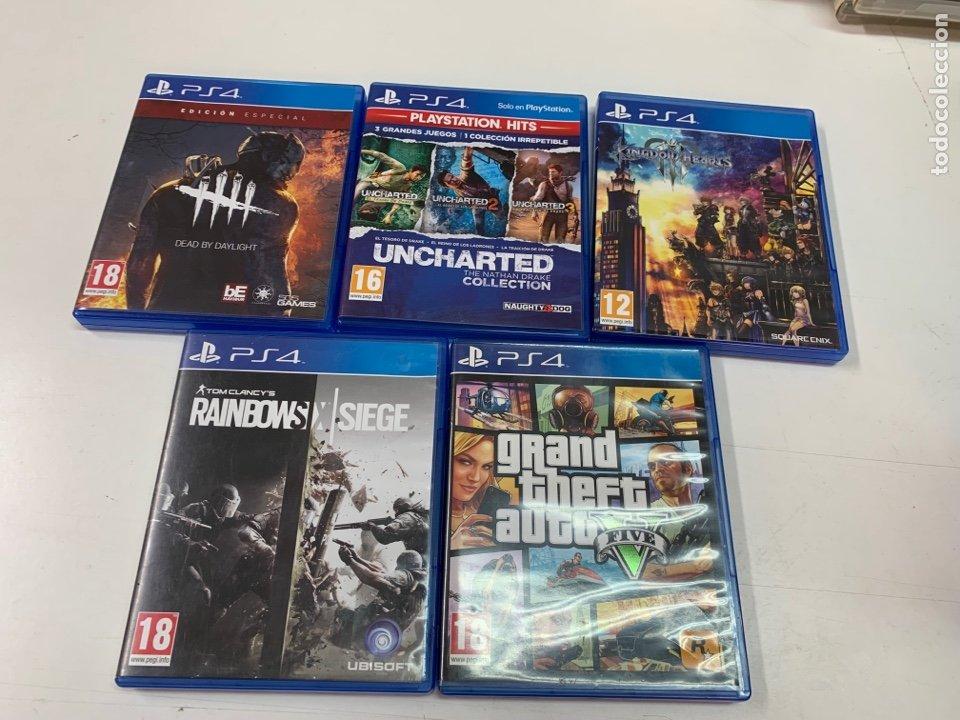 LOTE DE 5 JUEGOS PARA PS4. (Juguetes - Videojuegos y Consolas - Sony - PS4)