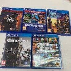 Videojuegos y Consolas PS4: LOTE DE 5 JUEGOS PARA PS4.. Lote 278334538
