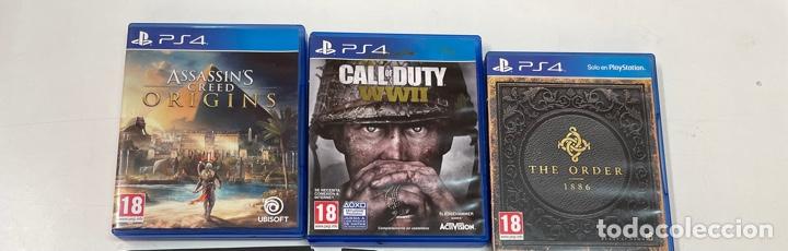 LOTE DE 3 JUEGOS PARA LA PS4. (Juguetes - Videojuegos y Consolas - Sony - PS4)