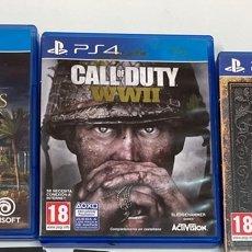 Videojuegos y Consolas PS4: LOTE DE 3 JUEGOS PARA LA PS4.. Lote 278342813