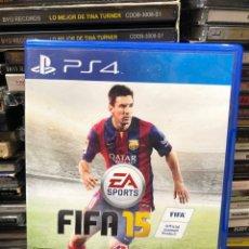 Videojuegos y Consolas PS4: FIFA 15. Lote 278470523