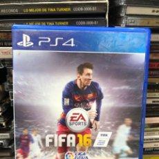 Videojuegos y Consolas PS4: FIFA 16. Lote 278470618