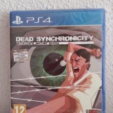 Videojuegos y Consolas PS4: DEAD SYNCHRONICITY TOMORROW COMES TODAY PS4 PRECINTADO ESPAÑOL. Lote 278945348