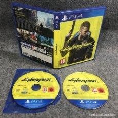 Videojuegos y Consolas PS4: CYBERPUNK 2077 SONY PLAYSTATION 4 PS4. Lote 279337408
