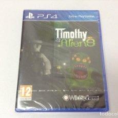 Videojuegos y Consolas PS4: TIMOTHY VS THE ALIENS. Lote 279583968