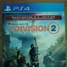 Videogiochi e Consoli: THE DIVISION 2. CON MAPA Y LIBRO DE ILUSTRACIONES. PS4. Lote 287621898