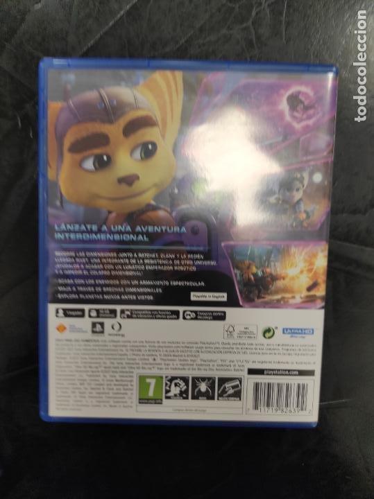 Videojuegos y Consolas PS4: Ratchet and Clank & - Playstation 5 PS5 - PAL ESP - Foto 3 - 287925348