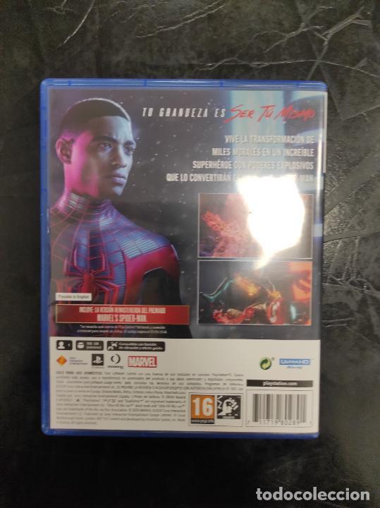 Videojuegos y Consolas PS4: Spiderman Spider Man Miles Morales - Playstation 5 PS5 - PAL ESP - Foto 3 - 287925443