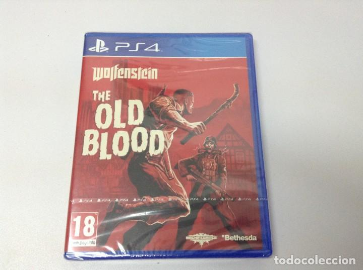 WOLFENSTEIN THE OLD BLOOD (Juguetes - Videojuegos y Consolas - Sony - PS4)