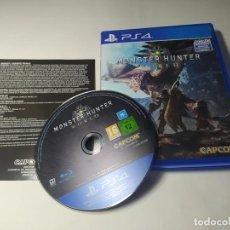 Videojuegos y Consolas PS4: MONSTER HUNTER : WORLD ( PS4 - PAL - ESP) (1). Lote 288158778