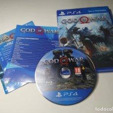 Videojuegos y Consolas PS4: GOD OF WAR ( 1ª EDICION) ( PS4 - PAL - ESP) (1). Lote 288158888