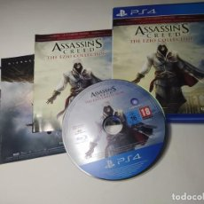 Videojuegos y Consolas PS4: ASSASSIN´S CREED - THE EZIO COLLECTION ( PS4 - PAL - ESP) (1). Lote 288159018