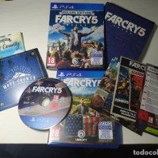 Videojuegos y Consolas PS4: FAR CRY 5 - DELUXE EDITION ( PS4 - PAL - ESP) (1). Lote 288159193