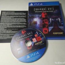 Videojuegos y Consolas PS4: RESIDENT EVIL ORIGINS COLLECTION ( PS4 - PAL - ESP) (1). Lote 288159358