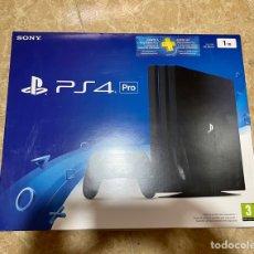 Videojuegos y Consolas PS4: CAJA PS4 PRO COMPLETA. Lote 288169338