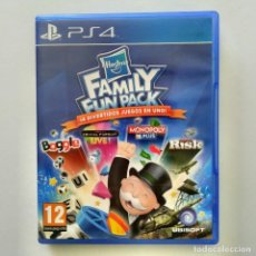Videojuegos y Consolas PS4: HASBRO FAMILY FUN PACK MONOPOLY, TRIVIAL, RISK, BOGGLE PS4. Lote 288197538