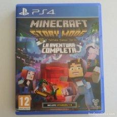 Videojuegos y Consolas PS4: MINECRAFT STORY MODE LA AVENTURA COMPLETA PS4. Lote 288198618