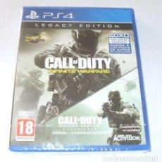 Videojuegos y Consolas PS4: CALL OF DUTY INFINITE Y MODERN WARFARE VIDEO-JUEGO PLAYSTATION 4 SELLADO PS4. Lote 288203278