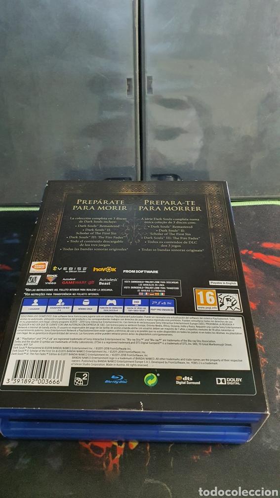 Videojuegos y Consolas PS4: SONY PS4 DARK SOULS TRILOGY - Foto 2 - 288334563