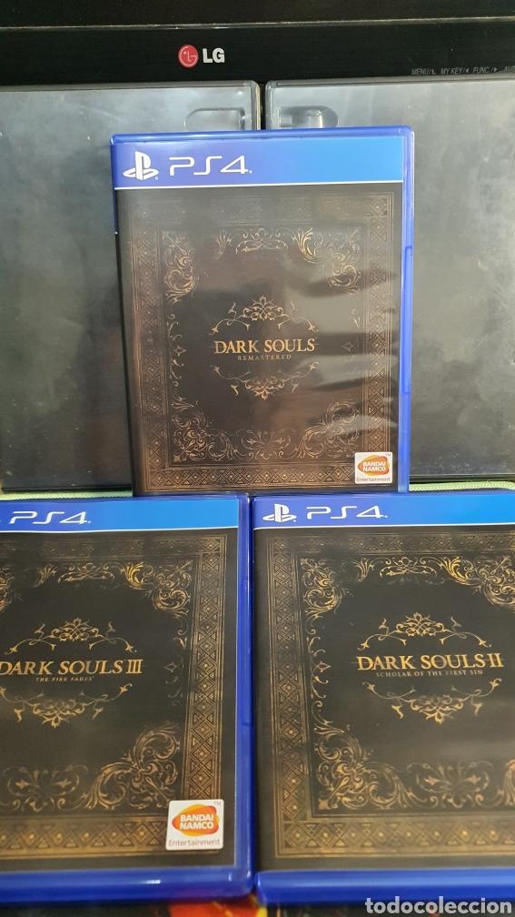 Videojuegos y Consolas PS4: SONY PS4 DARK SOULS TRILOGY - Foto 3 - 288334563