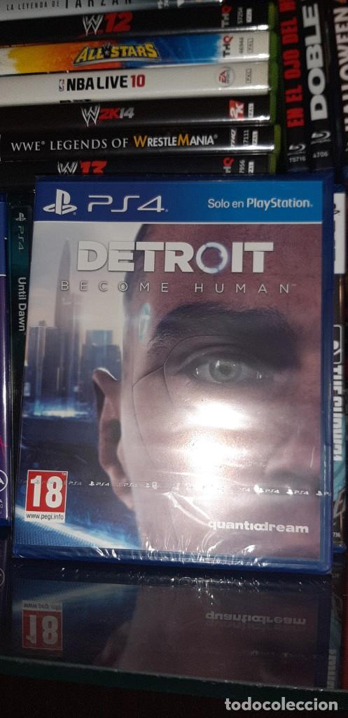 DETROIT BECOME HUMAN EDICIÓN ESTÁNDAR ( PLAY STATION 4, 2018) PRECINTADO. (Juguetes - Videojuegos y Consolas - Sony - PS4)
