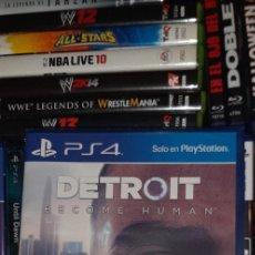 Videojuegos y Consolas PS4: DETROIT BECOME HUMAN EDICIÓN ESTÁNDAR ( PLAY STATION 4, 2018) PRECINTADO.. Lote 288567813