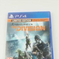 Videojuegos y Consolas PS4: THE DIVISION LIMITED EDITION PS4. Lote 288721288