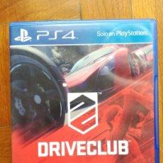 Videojuegos y Consolas PS4: PS4 DRIVECLUB PLAYSTATION 4 - DISCO COMO NUEVO. Lote 288737123