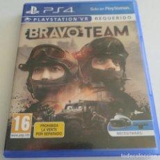 Videojuegos y Consolas PS4: BRAVO TEAM VR REQUERIDO PS4 PLAYSTATION. Lote 288879553