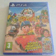 Videojuegos y Consolas PS4: CARRERAS CON RYAN EDICIÓN ESPECIAL PS4 PLAYSTATION PRECINTADO. Lote 288883293