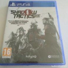 Videojuegos y Consolas PS4: SHADOW TACTICS BLADES OF THE SHOGUN PS4 PLAYSTATION PRECINTADO. Lote 288888163