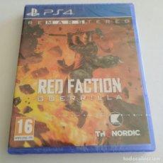 Videojuegos y Consolas PS4: RED FACTION GUERRILLA REMASTERED PS4 PLAYSTATION PRECINTADO. Lote 288899633