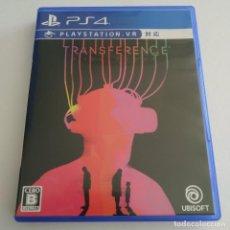 Videojuegos y Consolas PS4: TRANSFERENCE VR COMPATIBLE EDICIÓN JAPÓN PS4 PLAYSTATION. Lote 288921018
