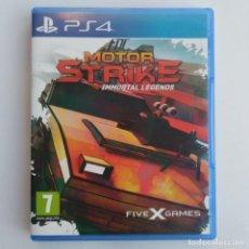 Videojuegos y Consolas PS4: MOTOR STRIKE IMMORTAL LEGENDS PS4 PLAYSTATION. Lote 288924893