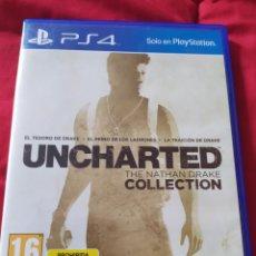 Videojuegos y Consolas PS4: UNCHARTED COLLECTION PS4. Lote 289556198