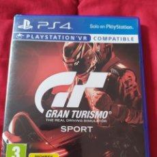 Videojuegos y Consolas PS4: GRAN TURISMO SPORT PS4. Lote 289556288