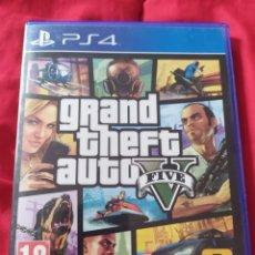 Videojuegos y Consolas PS4: GTA V PS4. Lote 289556363