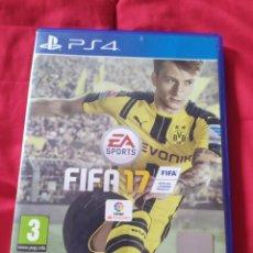 Videojuegos y Consolas PS4: FIFA 17 PS4. Lote 289556538